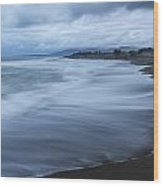 Moonstone Beach Surf 2 Wood Print