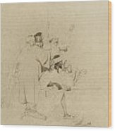 Moorish Soldiers Wood Print