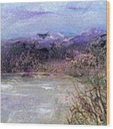 Moorland View 1 Wood Print