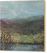 Moorland View 2 Wood Print