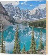 Moraine Lake - Banff National Park - Canada Wood Print