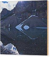 Moraine Lake #4 Wood Print