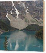 Moraine Lake - Alberta - Canada Wood Print