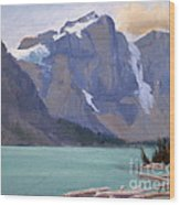 Moraine Lake Banff Wood Print