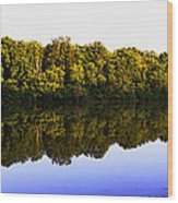Moraine View State Park Pano 20140718-01 Wood Print