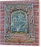 More Figures On Moore Block In Pipestone-minnesota Wood Print