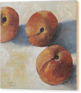 More Georgia Peaches Wood Print by Torrie Smiley