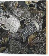 More Than Just Pot Metal Wood Print