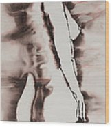 More Than Series No. 1384 Wood Print