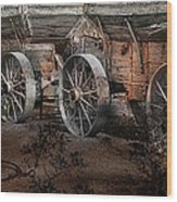 More Wagons East Wood Print