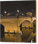 Morell Bridge Wood Print
