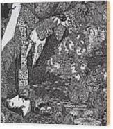 Morella  Wood Print