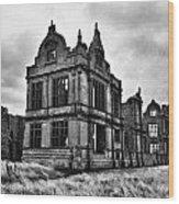 Moreton Corbet Castle Wood Print
