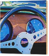 Morgan Steering Wheel Wood Print
