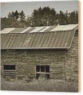 Morganton Barn Wood Print