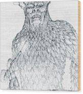 Morgoth And Fingolfin Wood Print