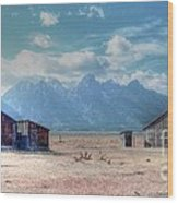 Morman Row Wood Print