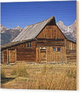 Mormaon Barn 3 Wood Print