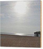 Morning At The Beach 002 Wood Print