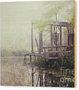 Morning At The Nature Center Wood Print by Katya Horner