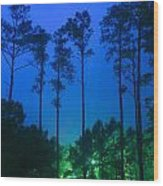 Morning Colors Wood Print