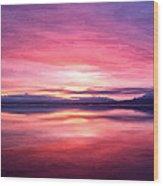 Morning Dawn Wood Print by Michael Pickett