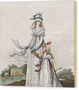 Morning Dresses, Fig. 63 & Fig. 64 Wood Print