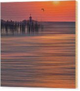 Morning Flight - A Tranquil Moments Landscape Wood Print