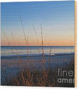 Morning Has Broken At Myrtle Beach South Carolina Wood Print
