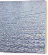 Morning Lake Wood Print