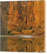 Morning Light In The Canyon Wood Print