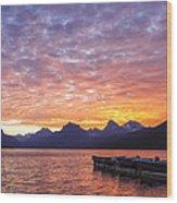 Morning Light Wood Print by Jon Glaser