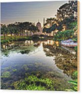 Morning Mosque Wood Print