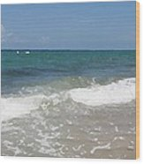 Morning On Boynton Beach 4 Wood Print by Shawn Lyte