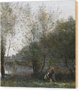 Morning On The Estuary. Ville D Avray Wood Print