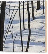 Morning Peace Wood Print