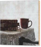Morning Read Series 1 Wood Print