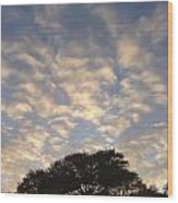 Morning Sky Wood Print