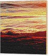 Morning Splash Wood Print