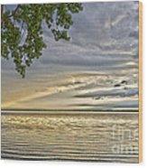 Morning Storm Wood Print