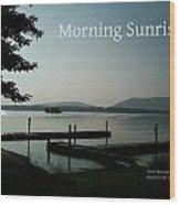 Morning Sunrise By Angela Wood Print
