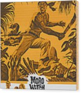 Moro Witch Doctor, Us Poster Art, 1964 Wood Print