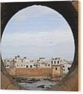Moroccan View Wood Print