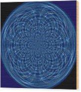 Morphed Art Globes 34 Wood Print