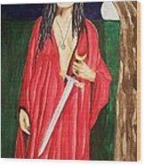 Morrigan Wood Print