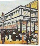Morrison's Theatre In Rockaway Beach Queens N Y 1912 Wood Print