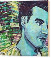 Morrissey Wood Print by Kat Richey