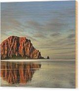 Morro Reflections By Rodrigo Alvarez  Wood Print