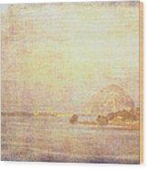 Morro Rock 5 Wood Print
