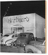 Mortimers Dining  Dancing Marina California  Circa 1948 Wood Print